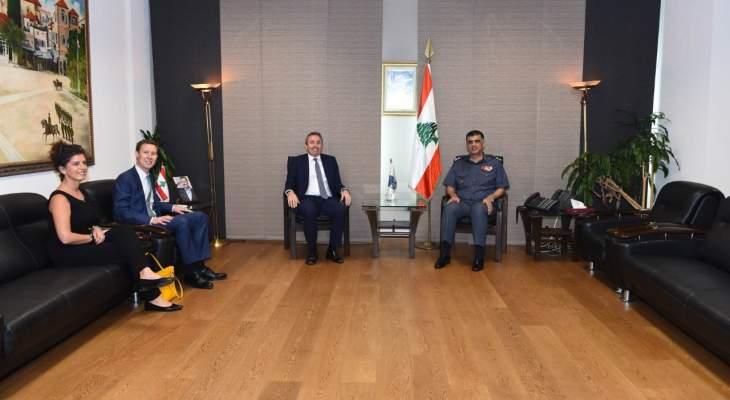 اللواء عثمان عرض مع السفير البريطاني الأوضاع العامة بالبلاد