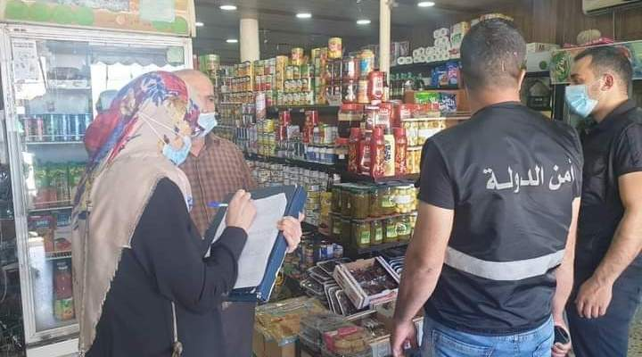 فريق من حماية المستهلك بالجنوب جال على محال لبيع المواد الغذائية بالعاقبية