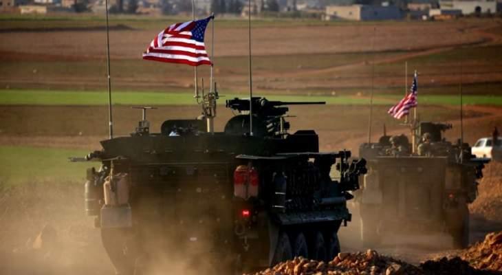 سانا: حاجز للجيش السوري يمنع 11 آلية أميركية من العبور في القامشلي