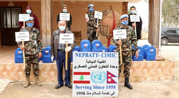 دورة توعية للكتيبة النيبالية من مخاطر سرطان الثدي في بلدة حولا