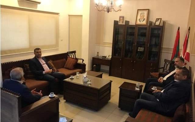 سعد التقى رئيس فرع مخابرات الجيش في الجنوب ورئيس مكتب مخابرات الجيش في صيدا