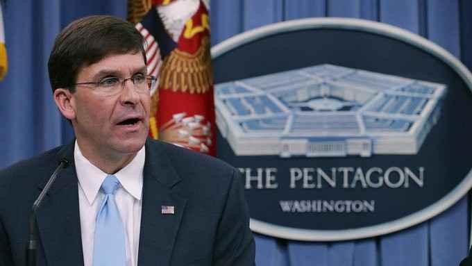 """إسبر: القوات الأميركية المتبقية في سوريا هي لحماية حقول النفط من """"داعش"""""""