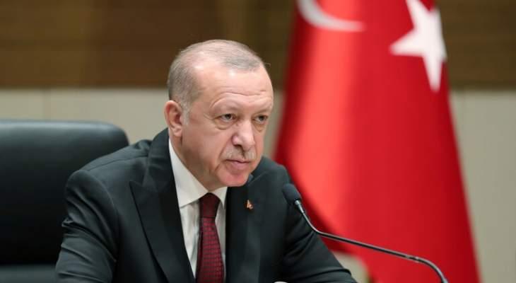 أردوغان: سنعد دستورا شاملا وديمقراطيا يكون مرشدا لتركيا مستقبلا
