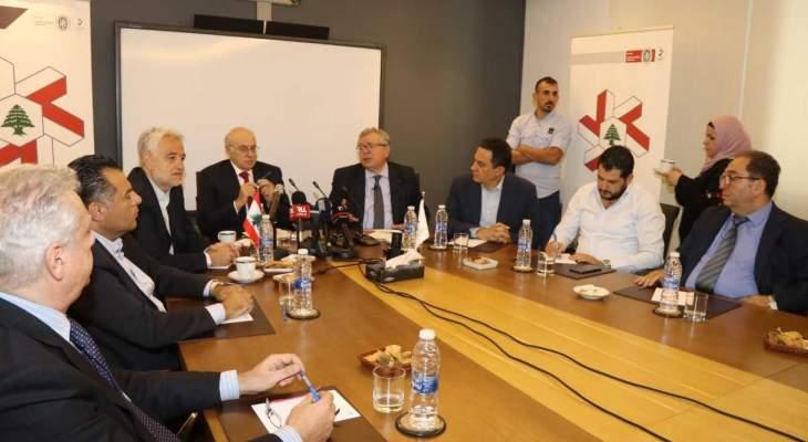 ابو سليمان زار جميعة الصناعيين: طلبنا توفر مقابل كل اجازة عمل لاجنبي 3 عمال لبنانيين