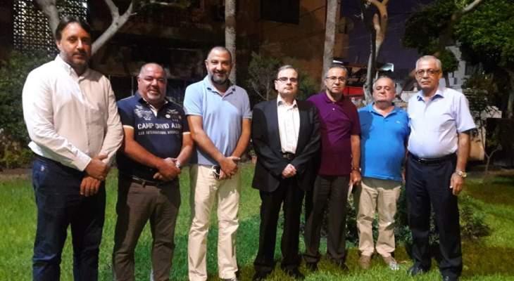 البزري التقى المجلس الأهلي لمكافحة الإدمان في صيدا وأكد أهمية مواجهة هذه الآفة