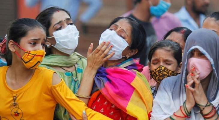 الصحة الهندية: 48648 إصابة جديدة بفيروس كورونا و563 حالة وفاة