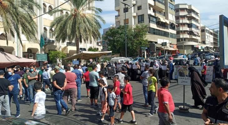 اعتصام لأهالي موقوفي عبرا أمام دار إفتاء صيدا للمطالبة بالعفو العام