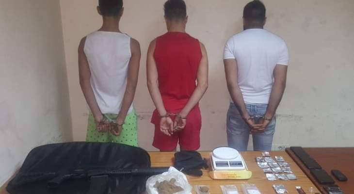 توقيف عصابة لترويج المخدرات تنشط في محلة النبعة