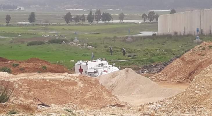 النشرة: دورية إسرائيلية مشطت الطريق العسكري ما بين تلال العديسة ومستعمرة المطلة