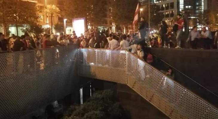 """محتجون تجمعوا امام """"الزيتونة باي"""""""