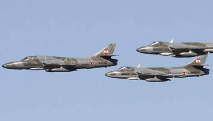 الجيش: القوات الجوية ستنفذ طيرانا ليليا من 14 حتى 17 حزيران