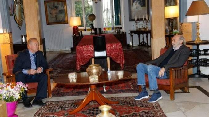 جنبلاط عرض مع روداكوف للأوضاع العامة وآخر المستجدات السياسية