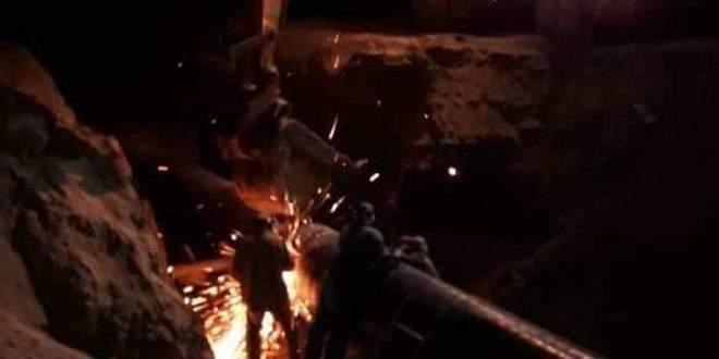 وزارة النفط السورية: عودة الغاز إلى خط الغاز العربي بعد إتمام إصلاحه