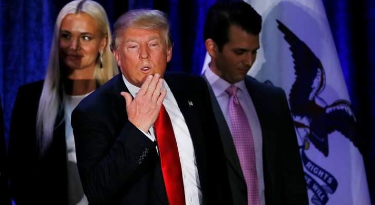 """القضاء الأميركي يرفض دعوى """"القبلة الفظيعة"""" ضد ترامب"""