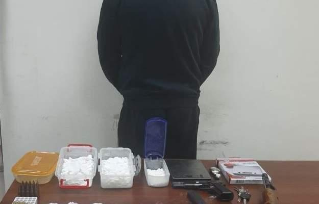 قوى الأمن: توقيف مطلوب ينشط في ترويج المخدرات وضبط كمية منها