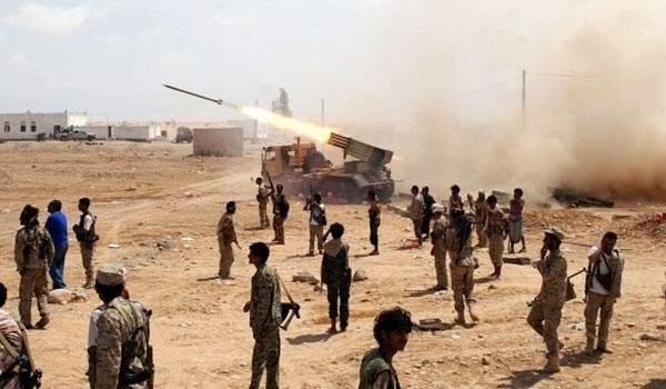 جيش اليمن يقصف بصاروخي زلزال 1 تحصينات التحالف السعودي بعسير بالسعودية
