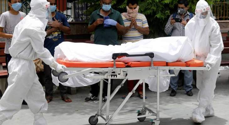 """ارتفاع حصيلة ضحايا """"كورونا"""" بالهند إلى 104555 بعد تسجيل 986 وفاة جديدة"""