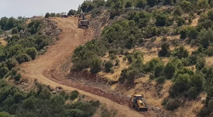 الجديد: الجيش الاسرائيلي أطلق النار في الهواء عند الحدود في ميس الجبل