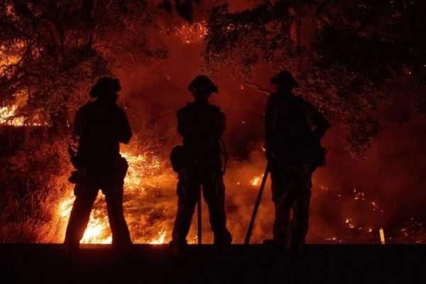 حريق كبير في ولاية أوكلاهوما الاميركية إثر انفجار خط للغاز بالمنطقة