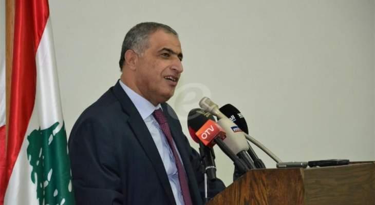 هاشم: إدراج قياديين من حزب الله على لوائح الارهاب رد على فوز الحزب بالإنتخابات