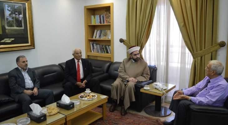 الشيخ القطان: نحيي الجيش على تضحياته بسبيل حفظ امن وامان واستقرار لبنان