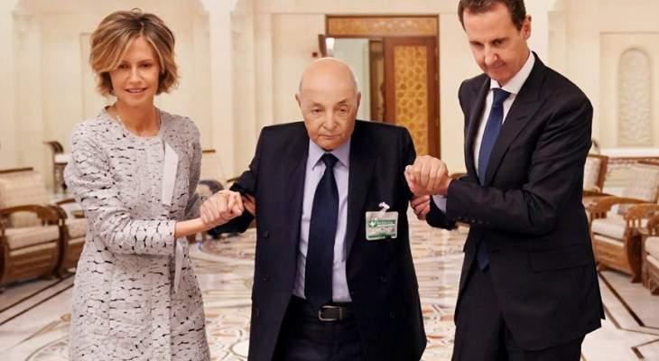 وفاة مدير مكتب الرئيس السوري محمد دعبول