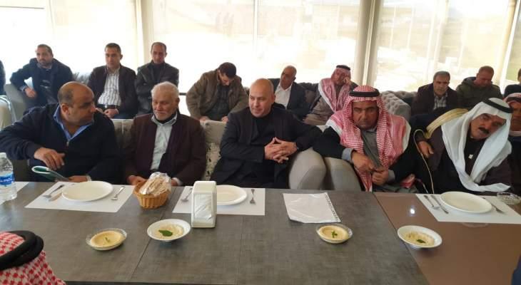 لقاء عشائر سورية ولبنانية بوادي خالد: تأكيد على مساعي إعادة النازحين لحضن الوطن