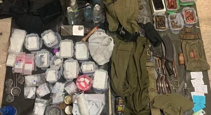 الجيش: توقيف مجموعة مرتبطة بأحد أكبر تجار المخدرات ببرج حمود ومروج ببرمانا