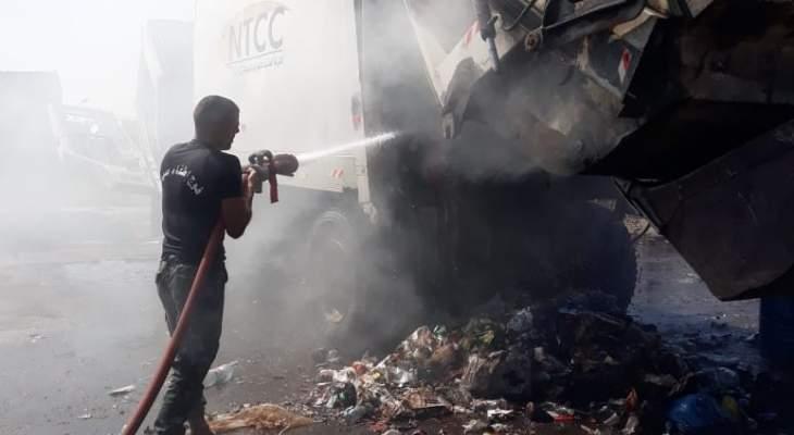 عناصر فوج اطفاء صيدا اخمدوا حريقين في المدينة