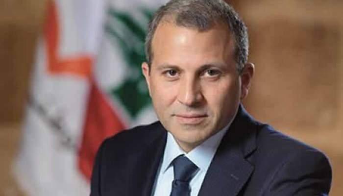 باسيل: سنقوم بكل شيء لنعيد السوريين الى بلدهم لانه مكانهم الطبيعي