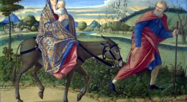 هَرَبُ الرب يسوع إلى مصر وقتل أطفال بيت لحم