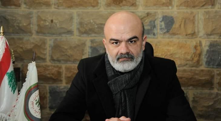رئيس اتحاد بلديات بشري دعا إلى يوم بلدي وطني تضامنا مع بلدية طرابلس