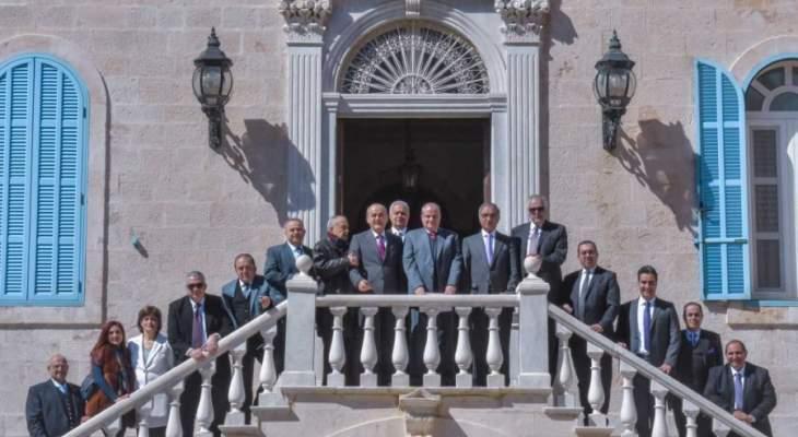 """رئيس لائحة """"رابطة لبكرا"""" غسان الخوري: لابعاد الرابطة المارونية عن الكيديات الهدامة"""