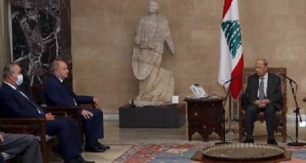 الرئيس عون عرض الأوضاع المعيشية مع وفد الاتحاد العمالي العام ورئيس جمعية المصارف