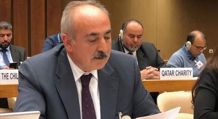 سفير تركيا بالأمم المتحدة: أولويتنا الدائمة في سوريا هي حماية المدنيين