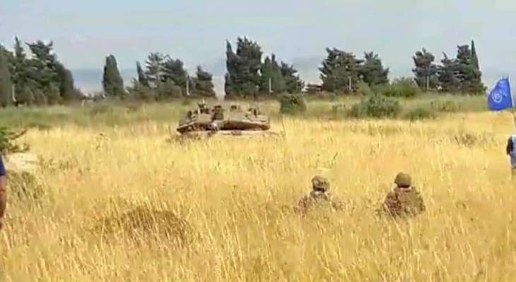 النشرة: قوة مشاة من الجيش الإسرائيلي اجتازت السياج التقني عبر البوابة الحديدية عند المحافر خراج العديسة