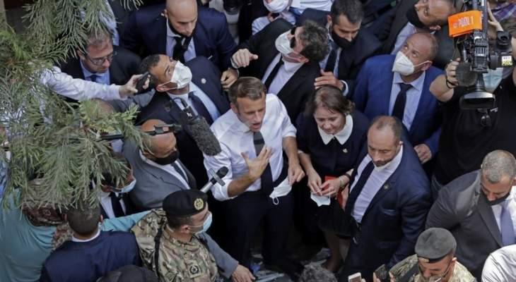 الجمهورية: جولة ماكرون الميدانية شكّلت الرسالة الأهم من زيارته للبنان