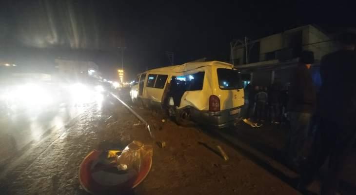 النشرة: سقوط 3 جرحى بحادث سير على طريق الفرزل
