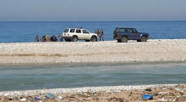 العثور على جثة الغريق المفقود قبالة شاطىء صيدا