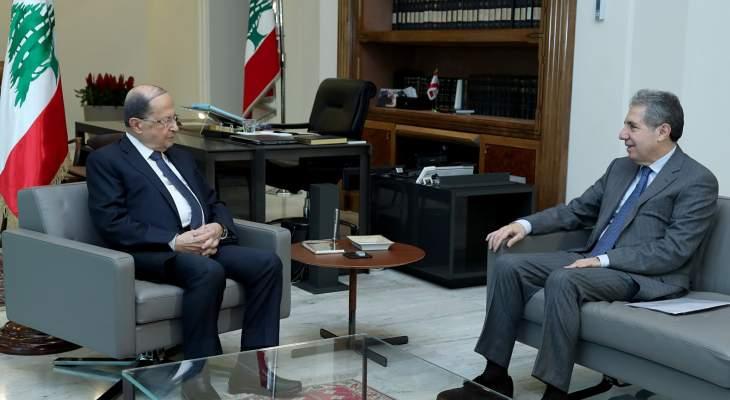 معلومات الجمهورية: وزني نقل لعون استعدادات بعثتي صندوق النقد ولبنك الدوليين لمساعدة لبنان