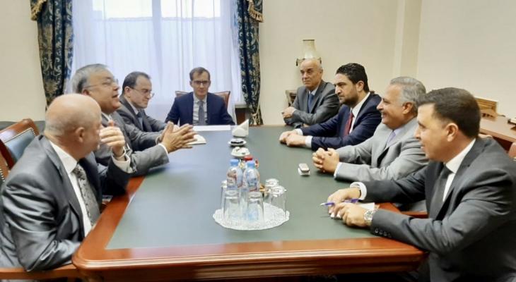 ارسلان بحث ونائب وزير الخارجية الروسي فيرشينين آخر المستجدات بحضور نعومكين