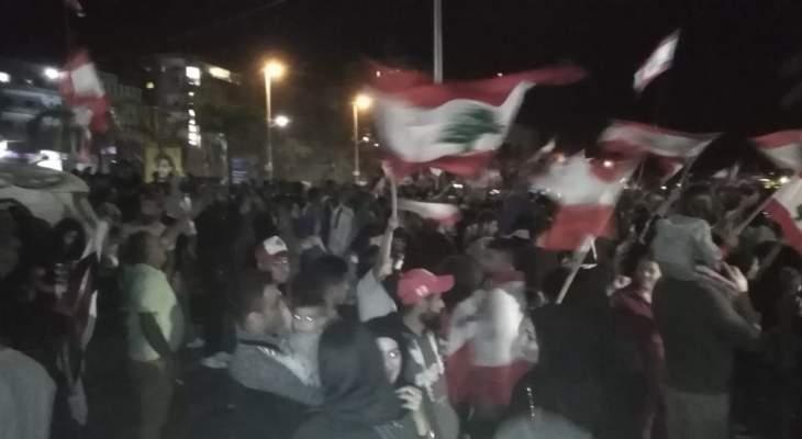 النشرة: إنهاء الاحتجاج الشعبي الذي كان قائما امام سراي النبطية