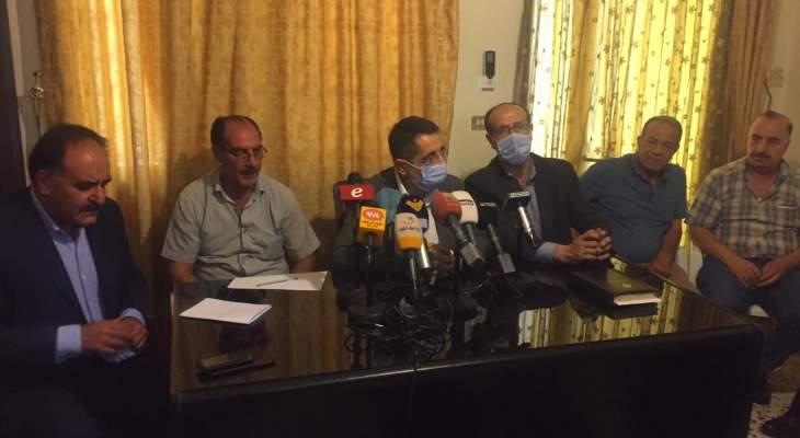 الموسوي والحاج حسن التقيا لجنة العفو العام لمناقشة تفشي كورونا بالسجون