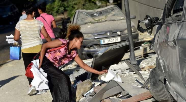 جمعية كشافة الاستقلال واصلت نشاطاتها الإنسانية لخدمة المنكوبين بسبب انفجار المرفأ