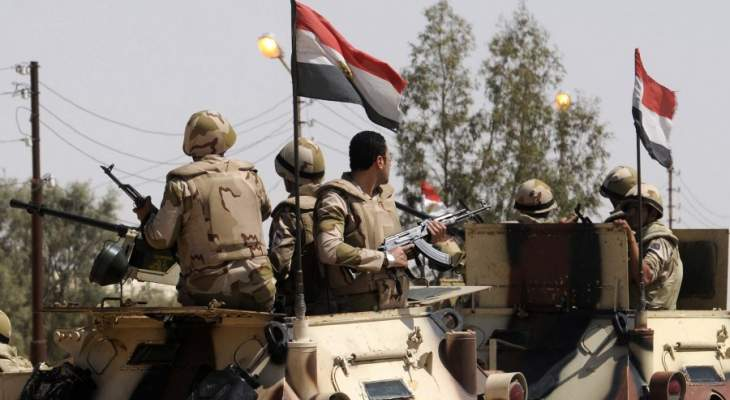 الجيش المصري: تدريبات للقوات البرية والبحرية والجوية والدفاع الجوي