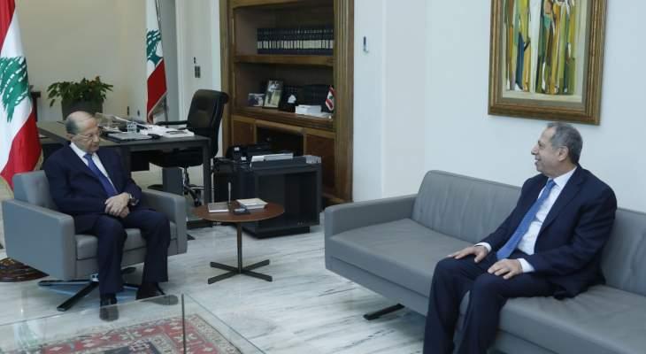 عدنان طرابلسي زار عون: رئيس الجمهورية يولي الشأن الاجتماعي أهمية كبرى