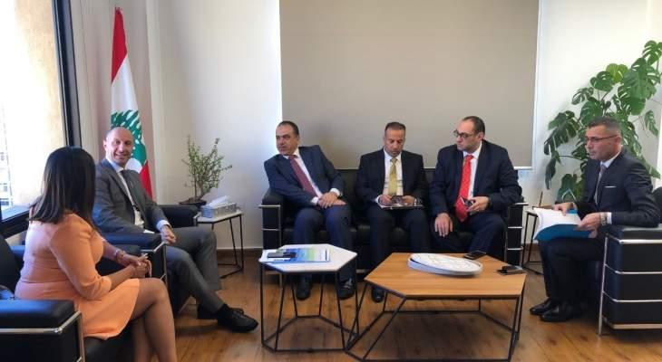 جريصاتي التقى وزير الزراعة الأردني وبحث معه تعزيز التعاون البيئي بين لبنان والاردن