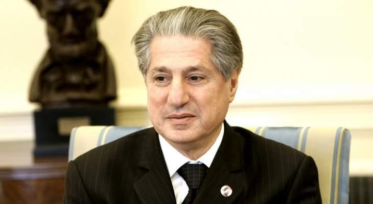 أمين الجميل: لبنان يدفع ثمن مشاكل الشرق الاوسط والمنطقة