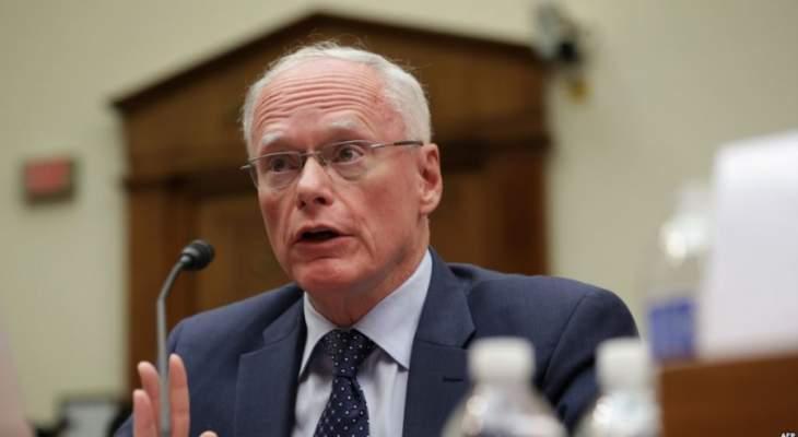 جيفري: مستمرون بالضغط الدبلوماسي لخروج جميع القوات التي تقودها إيران من سوريا