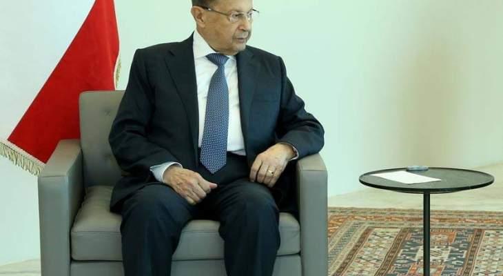 الرئيس عون تسلم دعوة من السيسي لحضور القمة العربية الاوروبية